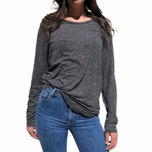 Anthropologie- Three Feathers Long Sleeve T-Shirt